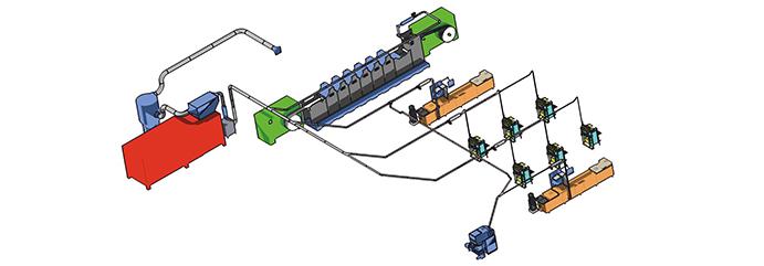 Lundberg Tech: Central Vacuum Waste Handling System